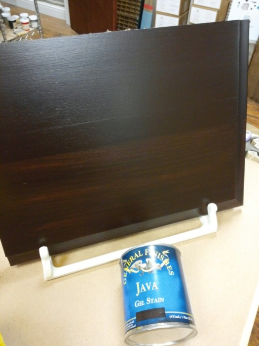 java gel stain to transform your cabinets the treasured