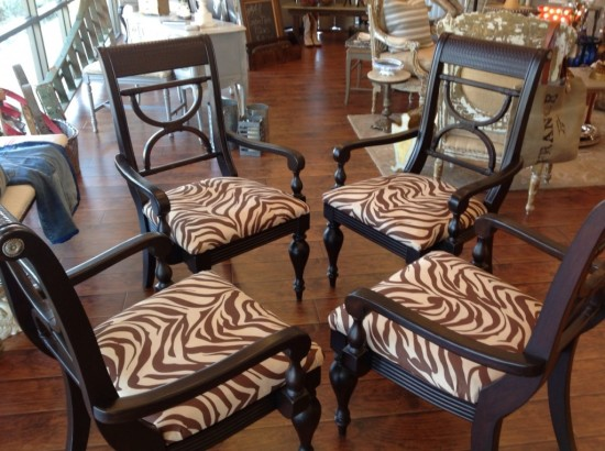 Chairs, Java gel stain