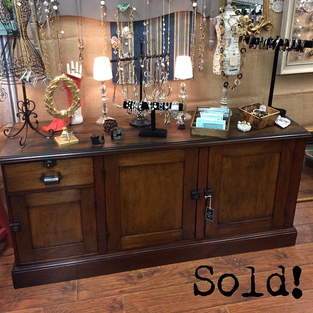 We are sad to see this beautiful antique office cabinet go, but it went to a great home! #newbeginnings #thetreasuredhome
