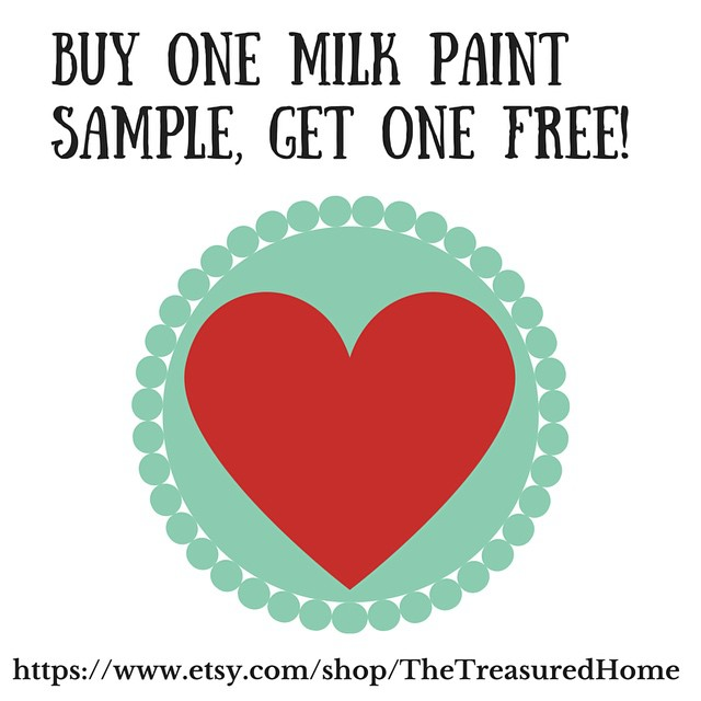 Today is the last day for the Buy One MMS Sample, Get One Free Sale! #etsy #sale #thetreasuredhome