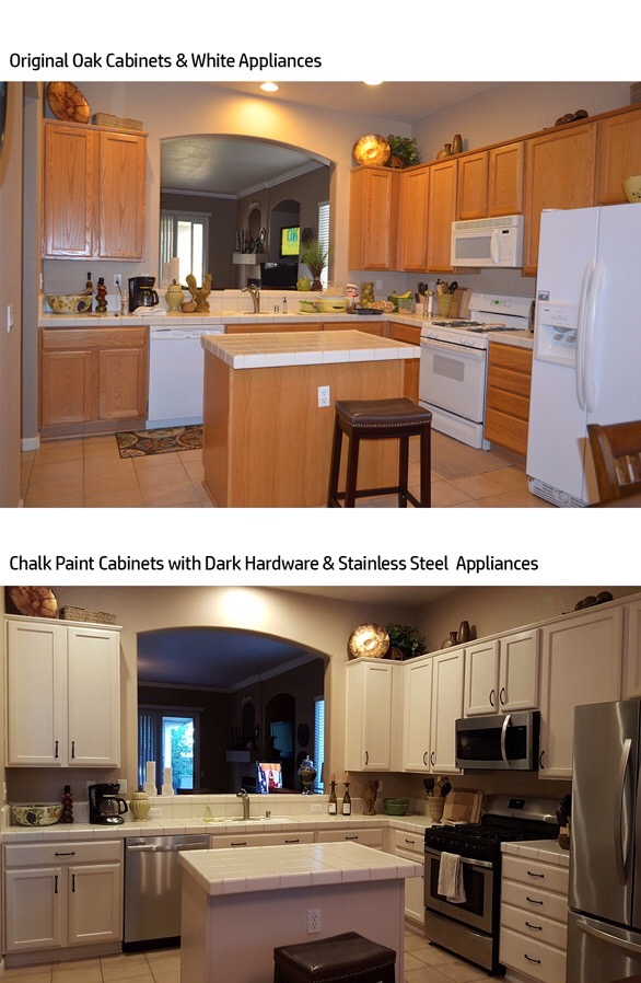 How To Paint Kitchen Cabinets Archives The Treasured Home