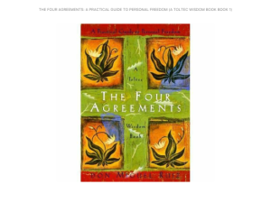 The Four Agreements, by Miguel Ruiz