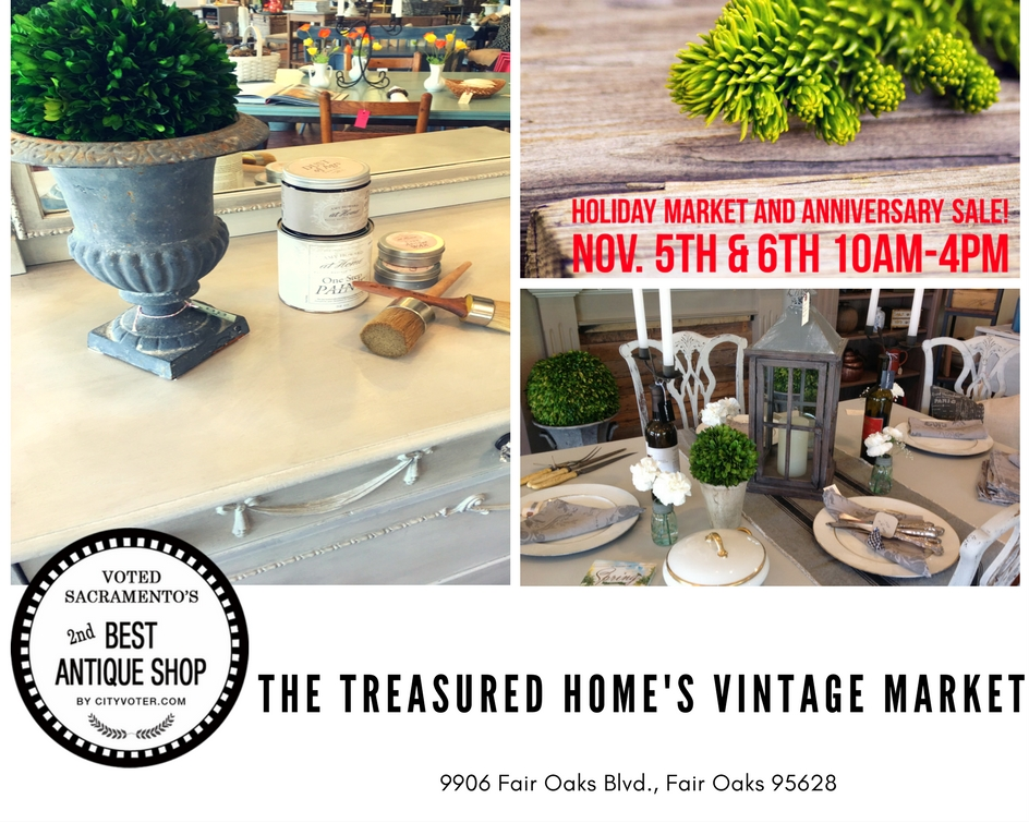 Make Plans to Join our Holiday Market and Anniversary Sale!