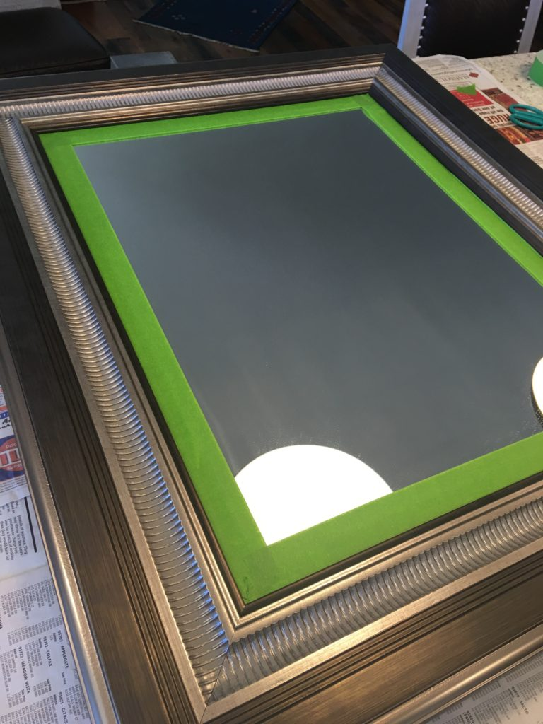 A $10 fix, for a shiney HomeGoods factory finish!