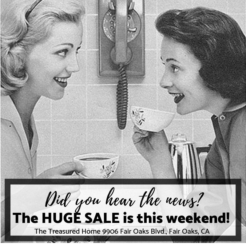 Semi-Annual Sale, this Saturday and Sunday!
