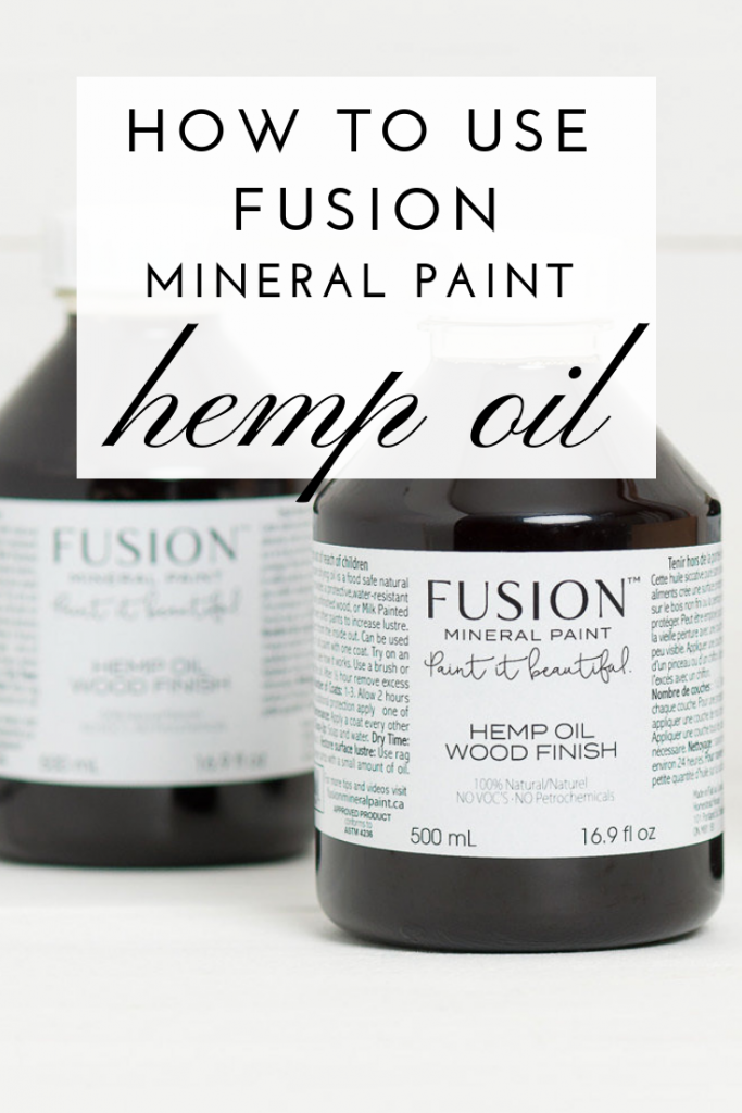 How To Use Fusion Hemp Oil To Restore Wood