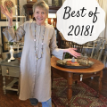 The Best of 2018 from The Treasured Home in Fair Oaks, CA! Your Fusion Mineral Paint Online Headquarters & home decor inspiration #thetreasuredhome #fusionmineralpaint #paintedfurniture #northerncalifornia #destinationshopping