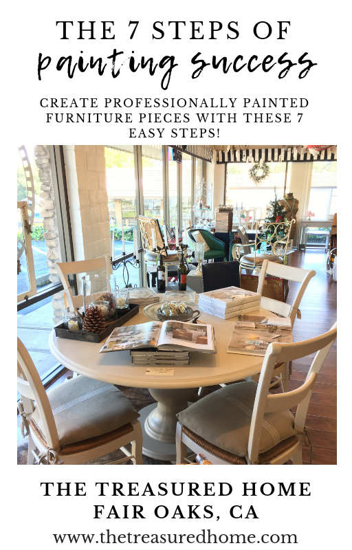 Learn the 7 step of painting success! Learn to paint furniture with this free ebook!