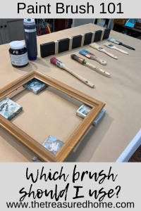 Paint Brush 101 - Which Paint Brush Should I Use for my painted furniture projects? #thetreasuredhome #paintbrushes #paintedfurniture #staalmeester #paintingtutorials