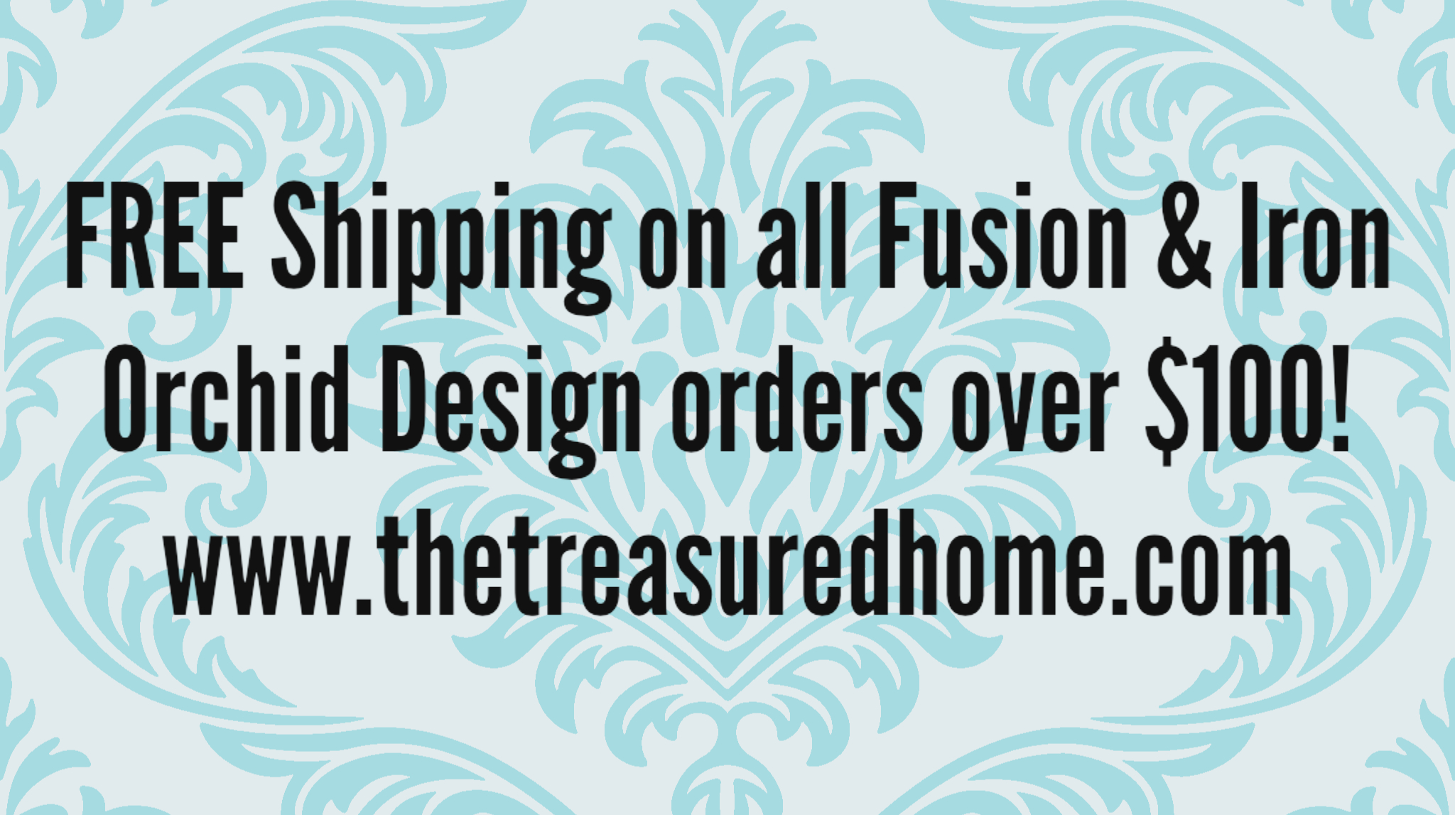 FREE Shipping on Fusion Mineral Paint Orders over $100!!